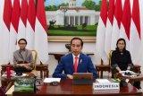 Presiden ikuti KTT LB G20 dari Istana Bogor