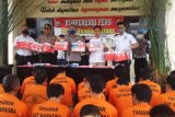 Polres Lampung Utara tangkap 59 tersangka penyalahgunaan narkotika