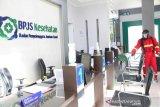 Cegah COVID-19, BPJS Kesehatan Palangka Raya sterilkan ruangan pelayanan