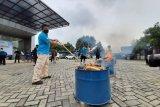 BNN Provinsi Banten musnahkan barang bukti 50 kilogram ganja