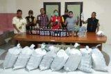 Satpol PP Kudus sita ratusan botol minuman beralkohol