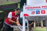 Pertamina bantu peralatan cuci tangan portabel untuk 8 pasar Yogyakarta