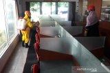 ACT DIY semprot disinfektan Kantor LKBN Antara DI. Yogyakarta