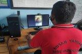 Besuk di Rutan Tamiang Layang hanya bisa lewat video