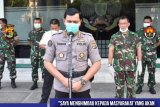 Polda Lampung ingatkan warga Lampung patuhi jaga jarak