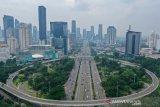 Lalin jalan protokol di Jakarta ramai lancar pada