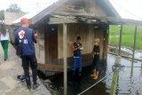 Sungai Mapam meluap, sejumlah rumah warga di Sukamara terendam