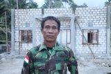 Jelang pensiun,Sertu Bini bangga ikut membangun Kampung Kibay
