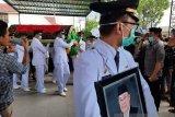 Wagub Sultra pimpinan upacara pelepasan Jenazah anggota DPR RI