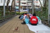 Hong Kong larang berkumpul di tempat umum lebih dari empat orang