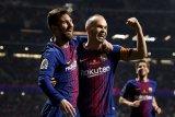 Andreas Iniesta, pemain yang paling mendekati Messi