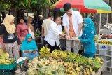 Pasar Puri Pati ditutup setelah pembagian masker dari almarhum Imam Suroso