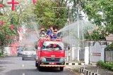 Penyebaran ODP, PDP dan positif COVID-19 kabupaten/kota di Sulut