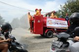 CPM semprot desinfektan di lima kelurahan Kota Palu