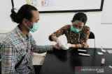 25 wartawan Bogor jalani rapid test COVID-19