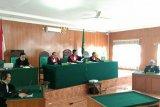 Tiga terdakwa korupsi gedung Diskan Muba divonis 1 tahun penjara