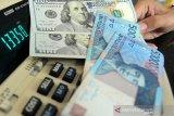 Nilai tukar rupiah Kamis pagi jatuh 55 poin