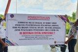 Penyeberangan Sumsel-Bangka dihentikan sejak hari Minggu