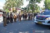 Gubernur Sulteng apresiasi Polri-TNI  lakukan penyemprotan disinfektan