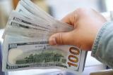 Kurs dolar AS jatuh Jumat pagi, akibat aksi ambil untung