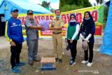 Legislator Kapuas salurkan bantuan untuk petugas COVID-19 wilayah perbatasan