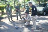 Uji coba drone pendeteksi suhu tubuh warga di Sulsel