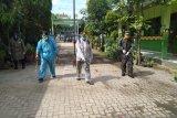 Seluruh wilayah Kota Metro disemprot disinfektan