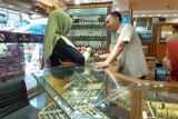 Harga emas di Pasar Raya Padang capai Rp2,1 juta per 2,5 gram