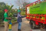 Pertamina semprot disinfektan pada fasilitas pendistribusian BBM