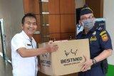 Bea Cukai salurkan bantuan APD ke Dinkes Bengkalis