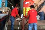 Layanan cuci tangan di tempat umum di Batam