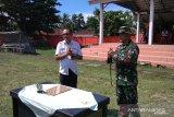 Kodim Sangihe  kerjakan perintisan jalan menuju bandara di Sitaro