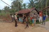 Antisivasi penyebaran COVID-19, Desa Sialang Panjang pasang portal masuk
