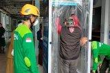 RSUD Haji Makassar dipasangi bilik antikuman cegah penularan COVID-19