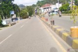 Jalan Raya Abepura Kota Jayapura Lengang
