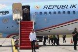 Presiden Joko Widodo  tinjau RS Darurat di Pulau Galang