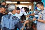 Binmas Polresta Jayapura Kota edukasi warga cegah virus corona