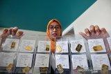 Harga emas Antam usai Lebaran naik Rp1.000/gram