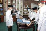 Bupati Pringsewu lantik dua pejabat tinggi pratama