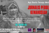 Jurnalis peduli kemanusiaan di Makassar bantu pengadaan APD bagi tenaga medis