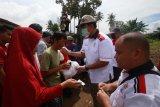 Lampung Sai berikan bantuan kepada korban banjir di Bandarlampung