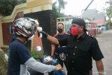 Satpam perumahan di Makassar batasi akses masuk orang guna mencegah COVID-19