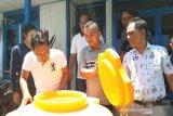 Ajak rajin cuci tangan, PWI Seruyan dapat bantuan tank penampung air