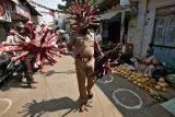 Ratusan Polisi India positif COVID-19
