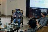 Plt Walikota Bogor, Dedie A Rachim saat rapat dgn Bupati Bogor, Ade Yasin dlm rangka persiapan rekayasa pengaturan