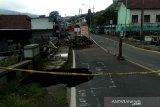 Jembatan ambrol,  jalur utama Temanggung-Wonosobo ditutup total