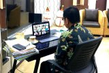 Serapan anggaran triwulan I APBD Bartim dibahas secara daring