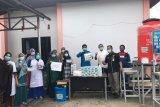 Puskemas Lubuk Muda terima bantuan APD dari Pertamina Sungai Pakning