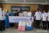 Bank Nagari serahkan bantuan APD kepada RSUP M.Djamil (Video)