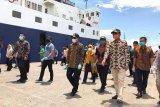 Gubernur Sulsel tinjau Pelabuhan Nusantara Parepare yang diperketat